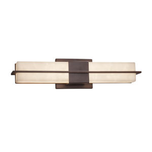 Clouds Dark Bronze ADA LED Bath Bar