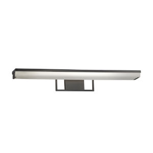 Clouds Matte Black LED Bath Bar