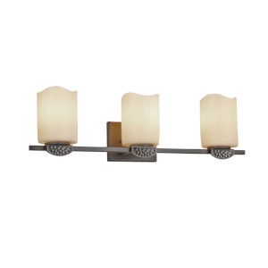 CandleAria - Malleo Brushed Nickel 24-Inch Three-Light LED Bath Vanity