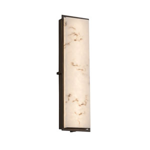 LumenAria Avalon Dark Bronze 24-Inch ADA LED Outdoor Wall Sconce