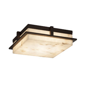 LumenAria Dark Bronze 14-Inch LED Flush Mount