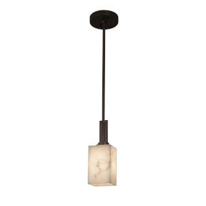 LumenAria Dark Bronze One-Light Mini Pendant