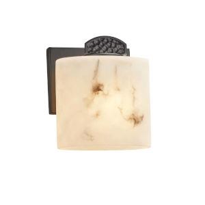LumenAria - Malleo Matte Black Seven-Inch One-Light ADA Wall Sconce