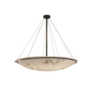 LumenAria Dark Bronze Nine-Light LED Pendant