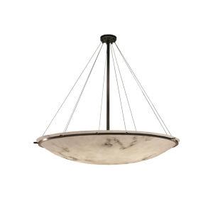 LumenAria Dark Bronze Nine-Light LED Pendant