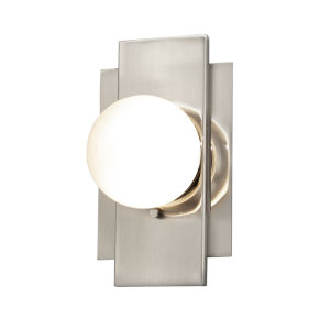 Fusion Luna Brushed Nickel LED Wall Sconce