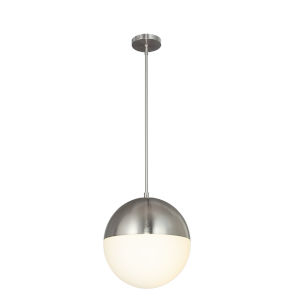 Fusion Brushed Nickel Three-Light Pendant