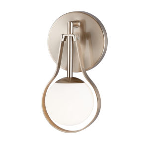 Fusion Brushed Brass One-Light Wall Sconce