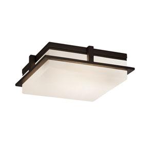 Fusion Avalon Dark Bronze LED Outdoor Flush Mount