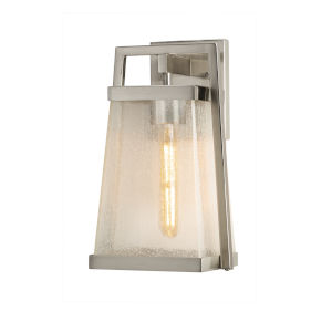Fusion Obispo Brushed Nickel One-Light Wall Sconce