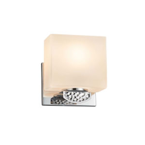 Fusion - Malleo Brushed Nickel Six-Inch LED ADA Wall Sconce