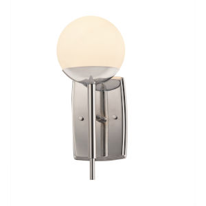Fusion Polished Chrome One-Light Wall Sconce