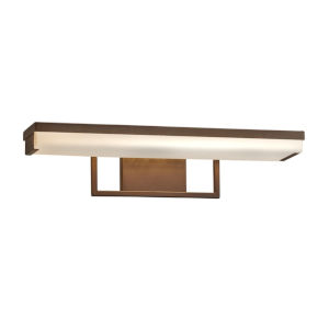 Fusion Dark Bronze LED Bath Bar