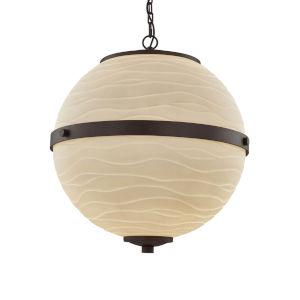 Porcelina - Imperial Polished Chrome 17-Inch Four-Light LED Chandelier
