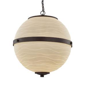 Porcelina - Imperial Polished Chrome 25-Inch Six-Light LED Chandelier