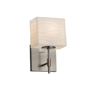 Porcelina Union Brushed Nickel LED Wall Sconce