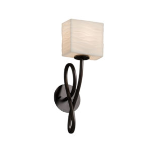 Porcelina Capellini Dark Bronze One-Light Wall Sconce