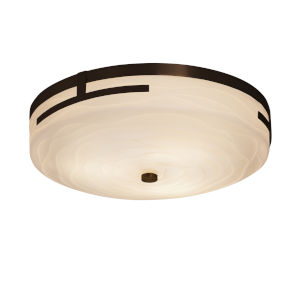 Porcelina Dark Bronze LED Flush Mount