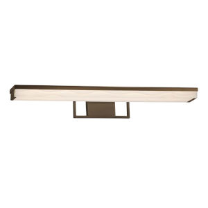 Porcelina - Elevate Matte Black 30-Inch LED Linear Bath Bar
