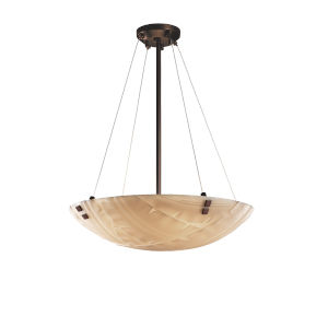 Porcelina Dark Bronze Six-Light Pendant