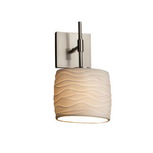 Limoges Brushed Nickel One-Light Wall Sconce