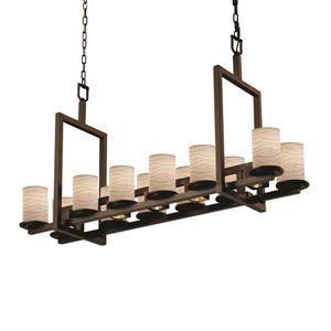 Limoges Dakota Dark Bronze Five-Light LED Chandelier
