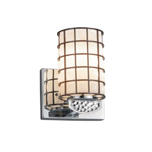 Wire Glass - Malleo Dark Bronze Six-Inch One-Light Wall Sconce