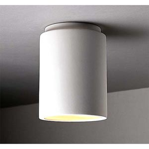 Flush Mount Cylinder Ceiling Light