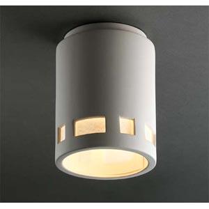 Prairie Window Ceiling Cylinder Light