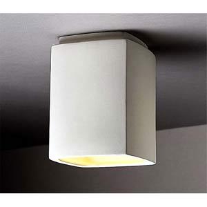 Flush Mount Rectangle Ceiling Light