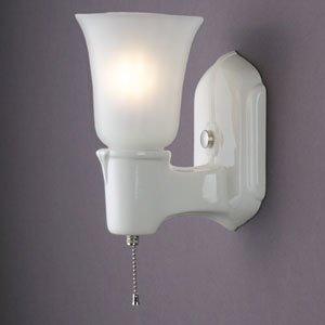 Chateau Single-Arm Uplight Wall Sconce