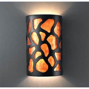 Large Cobblestones Wall Sconce