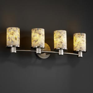 Alabster Rocks! Rondo Four-Light Bath Fixture