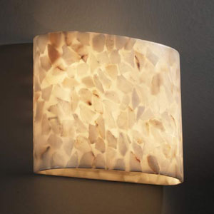 Alabaster Rocks! Modular Two-Light 2000 Lumen LED Wall Sconce