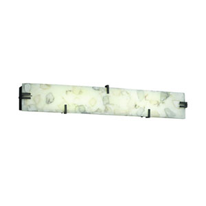 Alabaster Rocks!™ 36-Inch 36-Inch  Dark Bronze LED Bath Bar