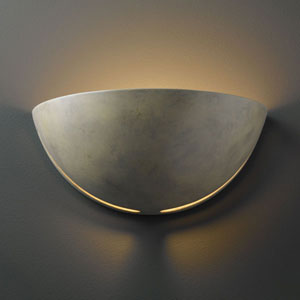 Ambiance Navarro Sand Large Cosmos Bathroom Wall Sconce