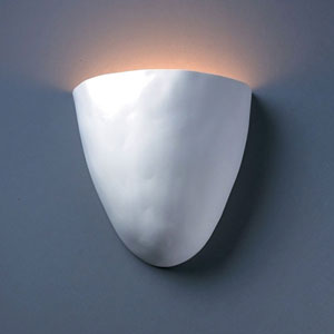 Ambiance Bisque Pecos Bathroom Wall Sconce