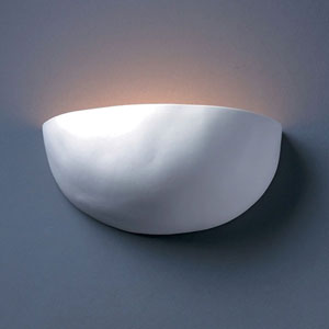 Ambiance Bisque Zia Bathroom Wall Sconce