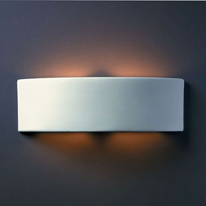 Ambiance Bisque Arc Two-Light Bathroom Wall Sconce