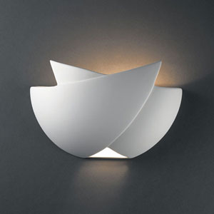 Ambiance Bisque Fema Bathroom Wall Sconce