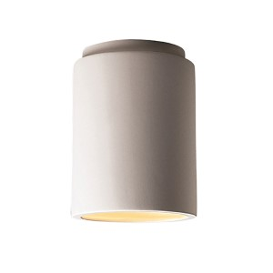 Radiance Antique Patina LED Cylindrical Flush Mount