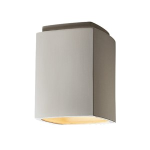 Radiance Antique Patina LED Rectangular Flush Mount
