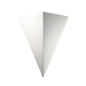 Ambiance Bisque LED Big Triangle Wall Sconce