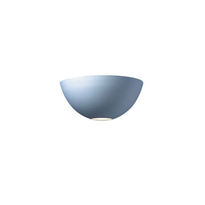Ambiance Matte White LED Large Metro Wall Sconce