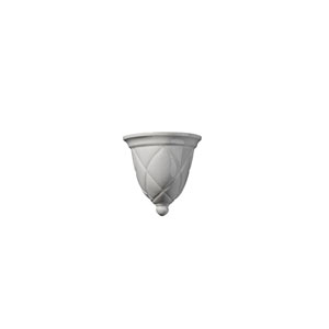 Ambiance Bisque One-Light Milano Wall Sconce
