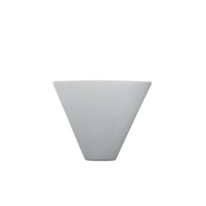 Ambiance Bisque One-Light Trapezoid Corner Wall Sconce