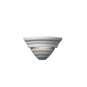 Ambiance Bisque One-Light Supreme Corner Wall Sconce