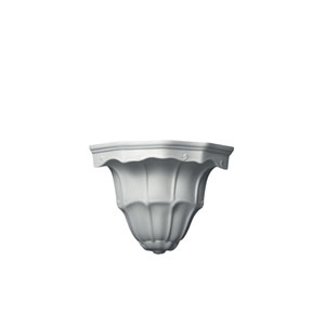 Ambiance Bisque One-Light Florentine Corner Wall Sconce