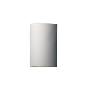 Ambiance Bisque One-Light Cylindrical Corner Wall Sconce