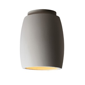 Radiance Antique Patina LED Curved Flush Mount